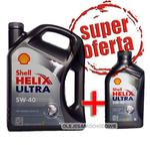 Shell Helix Ultra 5W40 4L + 1L MEGA PACK! w sklepie internetowym OlejeSamochodowe.com.pl