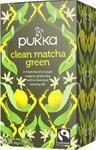 Herbata Clean Matcha Green Bio 20 saszetek Pukka w sklepie internetowym biogo.pl