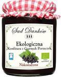KONFITURA Z CZARNYCH PORZECZEK NISKOSŁODZONA BIO 270 g - SAD DANKÓW w sklepie internetowym biogo.pl