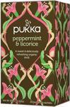 Herbata Peppermint & licorice Bio 20 saszetek Pukka w sklepie internetowym biogo.pl
