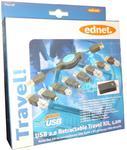 Zestaw kabel USB 2.0 z końcówkami/ 1,2m w sklepie internetowym Frikomp.pl