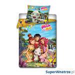 Pościel 160x200+ 2x70x80cm Carbotex Mia i Ja- Mia i przyjaciele kolorowa w sklepie internetowym SuperWnetrze.pl