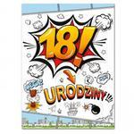Etykiety na butelki 18 urodziny (25szt)- E804 w sklepie internetowym DodatkiWeselne.pl