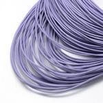 szs11 Rzemień skórzany okrągły 1m rzemyk prawdziwa skóra 2mm j.fiolet w sklepie internetowym Dekorynka