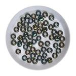 Koraliki TOHO Round 3/0 10g #84 Metallic Iris - Green/Brown w sklepie internetowym Dekorynka