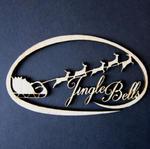 Dekor owal- Jingle Bells AD380 w sklepie internetowym Sambora.pl