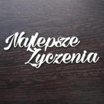 Napis najlepsze życzenia SK904 w sklepie internetowym Sambora.pl