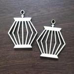 Klatki dla ptaków - kolczyki drewniane K68 w sklepie internetowym Sambora.pl