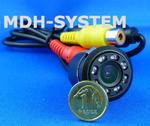 Kamera samochodowa, kamera cofania, MINIATUROWA, DZIEŃ/NOC, uniwersalna, 8 diod IR, 8IR-81508005 w sklepie internetowym Mdh-system.pl