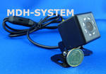 Kamera samochodowa, kamera cofania, MINIATUROWA, DZIEŃ/NOC, uniwersalna, 8 diod IR, 8IR-81603003 w sklepie internetowym Mdh-system.pl