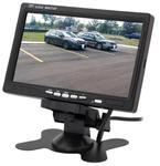 """Monitor samochodowy do kamer cofania, LCD 7"""", 2 wejścia VIDEO, LCD-CAR7 w sklepie internetowym Mdh-system.pl"""