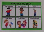 KODEKS UCZNIA - PLANSZA 2 w sklepie internetowym pomoceterapeutyczne.com