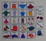 Ubrania / akcesoria - piktogramy Garderoba i akcesoria piktogramy w sklepie internetowym pomoceterapeutyczne.com