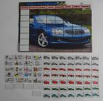 Magnetyczna tablica motywacyjna dla chłopców - samochody Tablica motywacyjna z autami w sklepie internetowym pomoceterapeutyczne.com