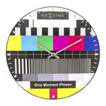 NeXtime - zegar ścienny Testpage Dome w sklepie internetowym BelloDecor.com.pl