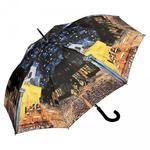 """Vincent van Gogh """"Kawiarniany taras"""" Parasol długi ze skórzaną rączką w sklepie internetowym MiaDora.pl"""