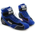 Buty zamszowe rajdowe RRS FIA - Niebieskie \ 43 w sklepie internetowym Inter-Rally.pl