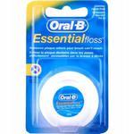 Nić Oral-B ESSENTIAL FLOSS 50m - klasyczna, woskowana nitka dentystyczna w sklepie internetowym DomowyStomatolog.pl