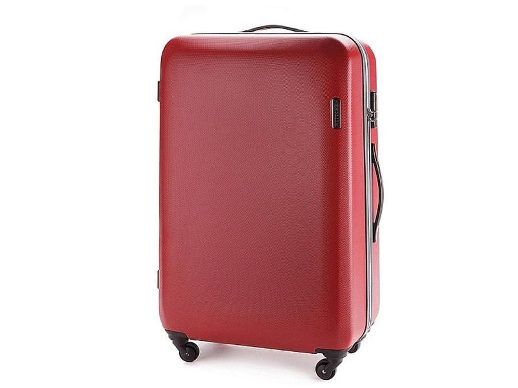 aa5e79b409fd9 Duża walizka WITTCHEN 56-3-613 czerwona - czerwona w sklepie internetowym  Gala24. Powiększ zdjęcie