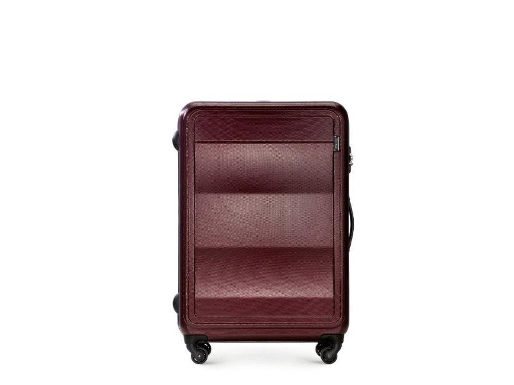 cca6f66dfa4ab Duża walizka WITTCHEN 56-3A-223 bordowa - bordowy w sklepie internetowym  Gala24. Powiększ zdjęcie