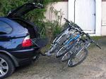Bagażnik na rowery platforma EUFAB LUKE na 4 rowery w sklepie internetowym DostawaNaJutro.pl
