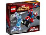 LEGO SuperHeroes 76014 Trójkołowiec Pająka kontra Electro w sklepie internetowym Planeta Klocków Sklep z klockami LEGO
