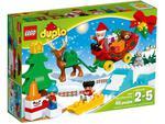LEGO Duplo 10837 Zimowe ferie Świętego Mikołaja w sklepie internetowym Planeta Klocków Sklep z klockami LEGO
