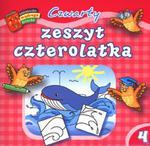 Czwarty zeszyt czterolatka. Biblioteczka mądrego dziecka w sklepie internetowym Podrecznikowo.pl