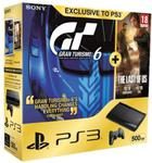 Konsola Playstation 3 Super Slim 500GB + Grand Turismo 6 + The Last of US w sklepie internetowym ProjektKonsola.pl