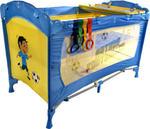 Łóżeczko ARTI Medium Easy Artur Fotballer Blue Gray w sklepie internetowym Centrum Maluszka