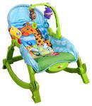Leżaczek ARTI Edu Soft-Play 971 Green Giraffe w sklepie internetowym Centrum Maluszka