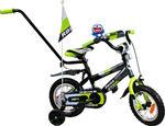 Rower BMX Rbike 3-12 gray-green NOWOŚĆ !!! w sklepie internetowym Centrum Maluszka