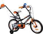 Rower BMX Rbike 3-16 gray-orange NOWOŚĆ !!! w sklepie internetowym Centrum Maluszka