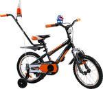 Rower BMX Rbike 4-16 orange-black NOWOŚĆ !!! w sklepie internetowym Centrum Maluszka