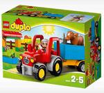 LEGO DUPLO 10524 - Traktor w sklepie internetowym Centrum Maluszka
