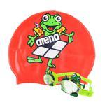 Okulary pływackie dziecięce + czepek BUBBLE SET JR Arena w sklepie internetowym Asport.pl