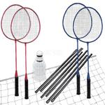 Zestaw do badmintona: 4 rakiety + lotki + siatka + stelaż FUN START Spokey w sklepie internetowym Asport.pl