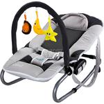 Leżaczek bujany dla niemowląt + pałąk z zabawkami ASTRAL Caretero w sklepie internetowym Asport.pl