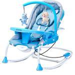 Leżaczek bujany dla niemowląt, moduł wibracji, moskitiera RANCHO Caretero w sklepie internetowym Asport.pl