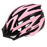 Kask damski, rowerowy, szosowy, na rolki MV29 pink/black Meteor Rozmiar: 55-58 w sklepie internetowym Asport.pl