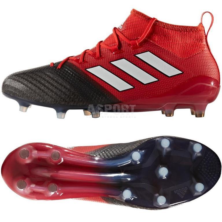Buty pi?karskie turfy X Tango 17.3 Primemesh TF Adidas (czarno czerwone)