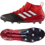 Buty meczowe profesjonalne lanki ACE 17.1 Primeknit FG czarno-czerwone Adidas Rozmiar: 45 1/3 w sklepie internetowym Asport.pl