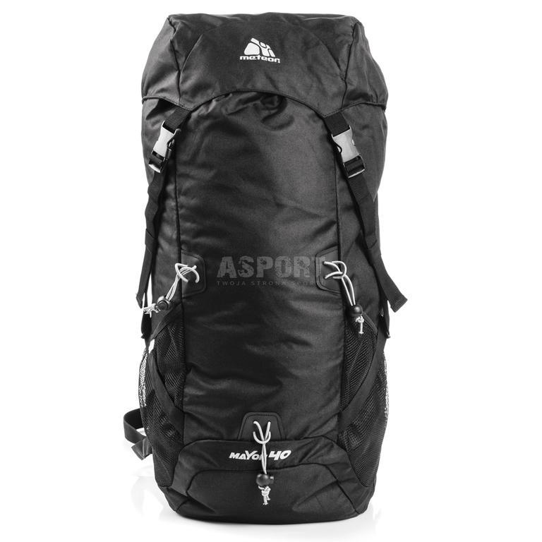 2b704bddc9cb5 Plecak turystyczny, trekkingowe MAYON AIR VENT 40L Meteor Kolor: czarny w  sklepie internetowym Asport. Powiększ zdjęcie