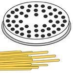 Końcówka sitko do wyrobu makaronu BIGOLI grube nitki 22 otwory śr. 3 mm MPF2.5/4 - Hendi 229347 w sklepie internetowym Hurtownia Przemysłowa