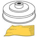 Końcówka do wyrobu makaronu PASTA SFOGLIA ciasto francuskie dł. 155 mm gr. 1-4 mm MPF2.5/4 - Hendi 229392 w sklepie internetowym Hurtownia Przemysłowa
