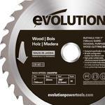 Tarcza piła widiowa TCT do cięcia drewna EVOLUTION 180mm - 30z w sklepie internetowym Hurtownia Przemysłowa