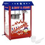 Maszyna do popcornu z niebieskim daszkiem TEFLON 1600W w sklepie internetowym Hurtownia Przemysłowa