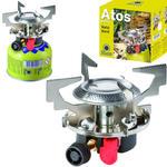 Kuchenka turystyczna na gaz na kartusze gazowe (gwint lub zawór) ATOS piezo zapalnik 1.8kW w sklepie internetowym Hurtownia Przemysłowa