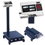 Waga platformowa magazynowa z kółkami SBS-PF-600/100 LCD do 600kg w sklepie internetowym Hurtownia Przemysłowa