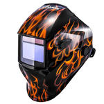 Maska przyłbica spawalnicza automatyczna samościemniająca z funkcją grind FIRESTARTER 500 w sklepie internetowym Hurtownia Przemysłowa